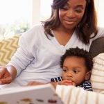 momento de leitura em família