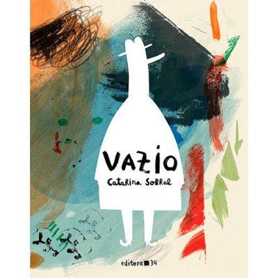 Livro-imagem: capa do livro Vazio da Catarina Sobral