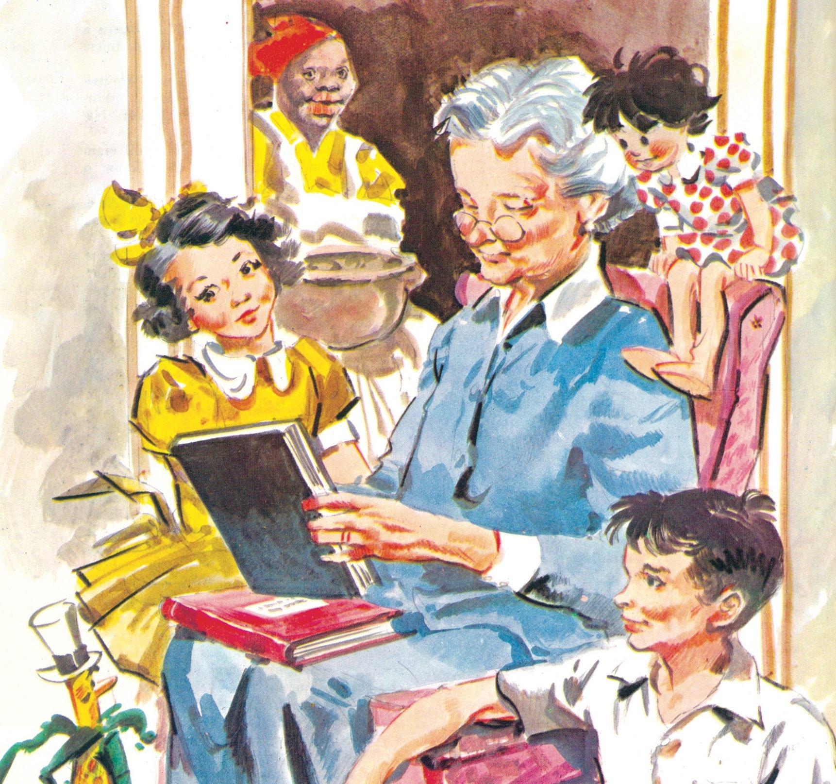 Ilustração do Sítio do Pica-Pau Amarelo.