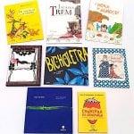 Livros infantis do Clube de Leitura Quindim