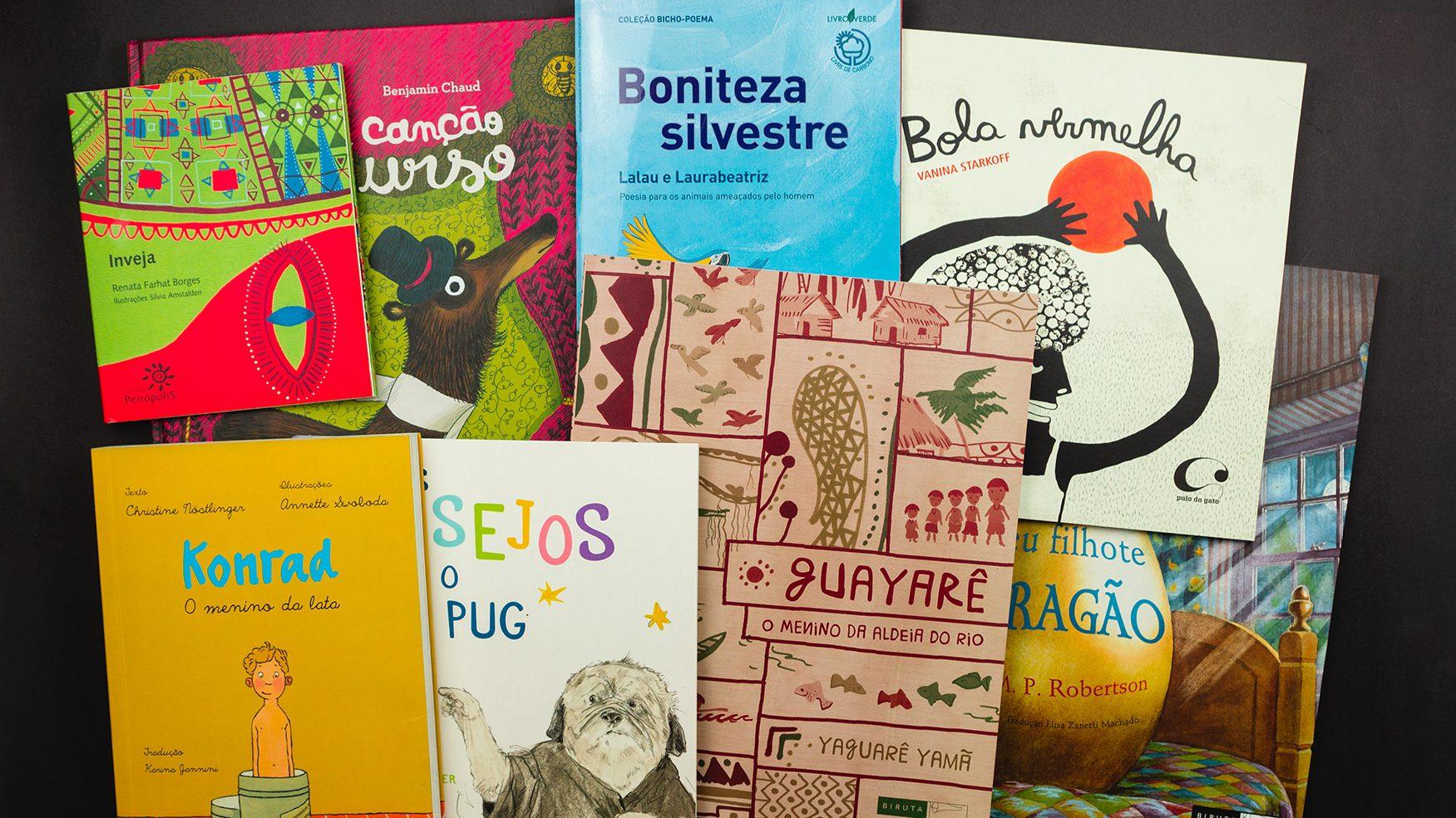 Livros infantis para falar sobre identidade