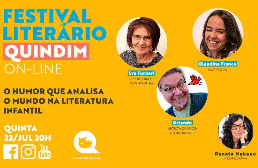 Festival Literário: O humor que analisa o mundo na literatura infantil
