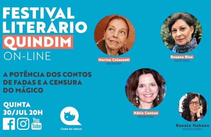 Festival Literário: A POTÊNCIA DOS CONTOS DE FADAS e a censura do mágico