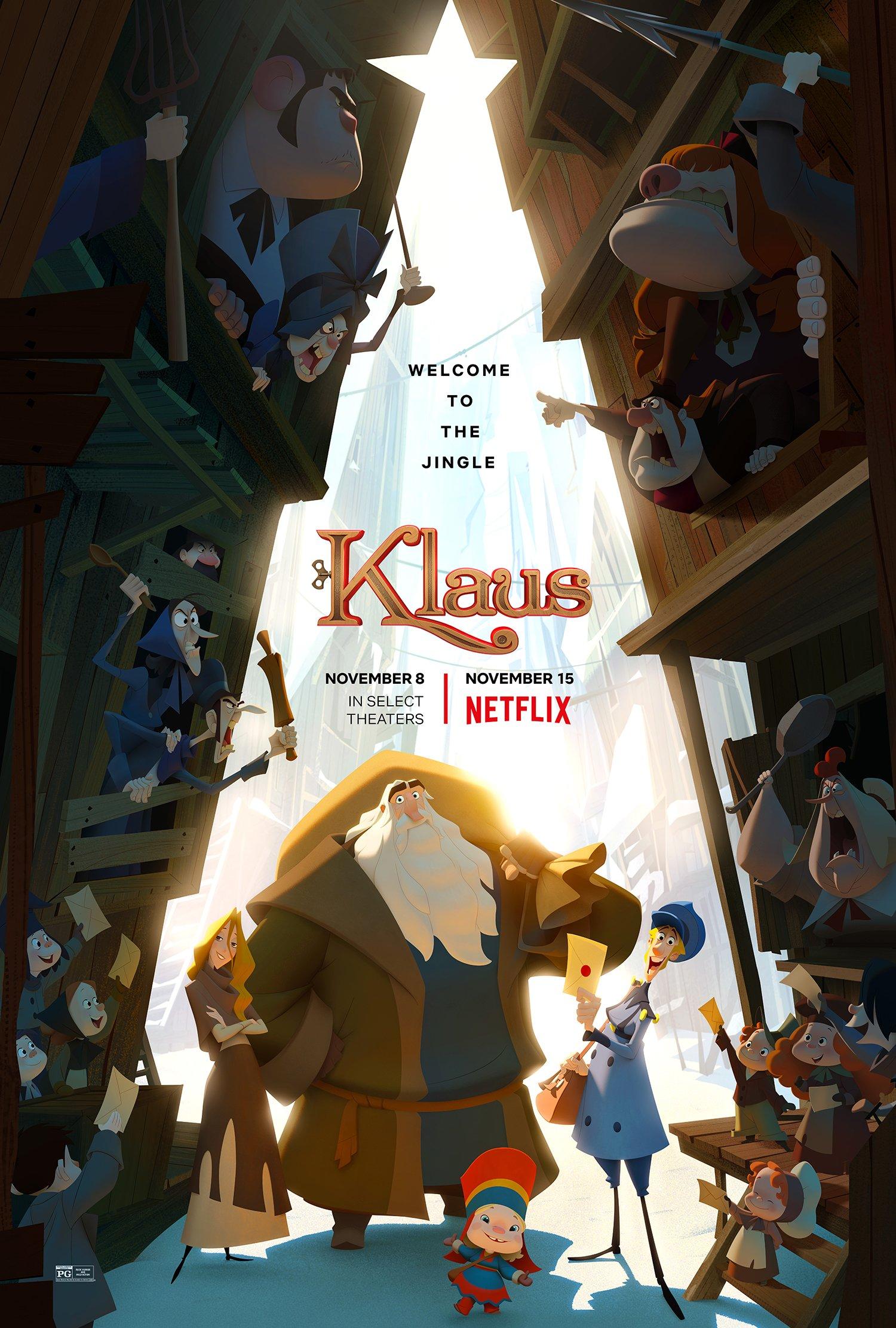 os melhores filmes de natal infantil. Klaus