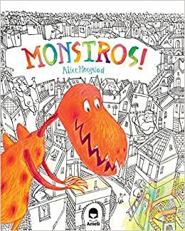 livros de monstros para crianças editora amelì