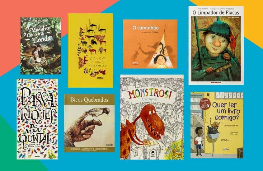 Sugestões de livros infantis para quem está cansado de ler os mesmos livros com as crianças