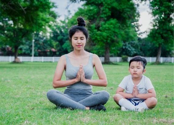Meditação para crianças: uma introdução à paz interior