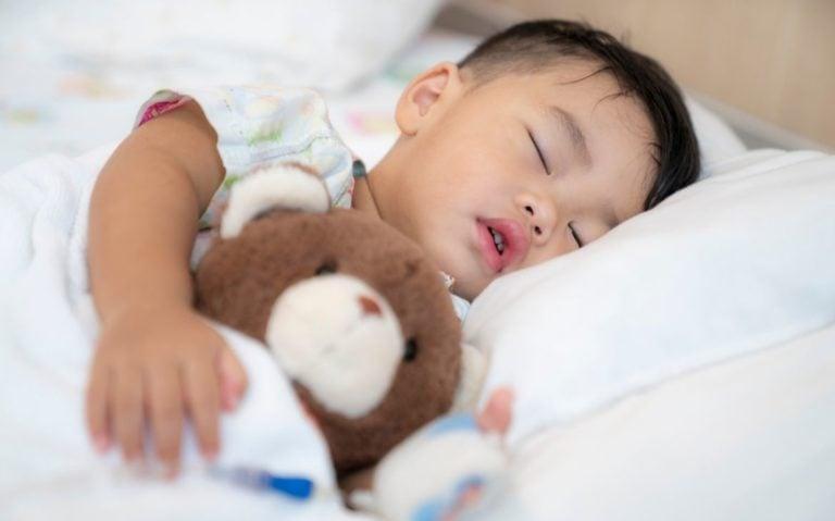 Rotina do sono da criança
