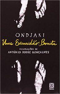 Livros para crianças de 11 anos. Capa do livro uma escuridão bonita do autor Ondjaki, editora Pallas